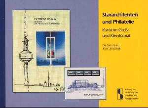 Stararchitekten und Philatelie. Kunst im Groß- und Kleinformat (2007)