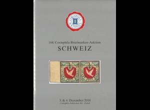 3.-4.12.2010: 168. Corinphila-Auktion: - Schweiz