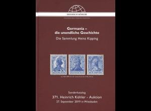 371. H.-Köhler-Auktion. Sept. 2019: Germania - die unendliche Geschichte