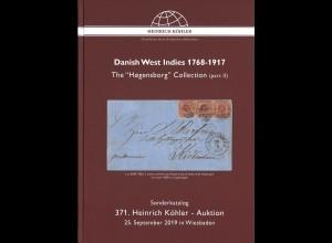 371. H.-Köhler-Auktion. Sept. 2019: Danish West Indies 1768–1917